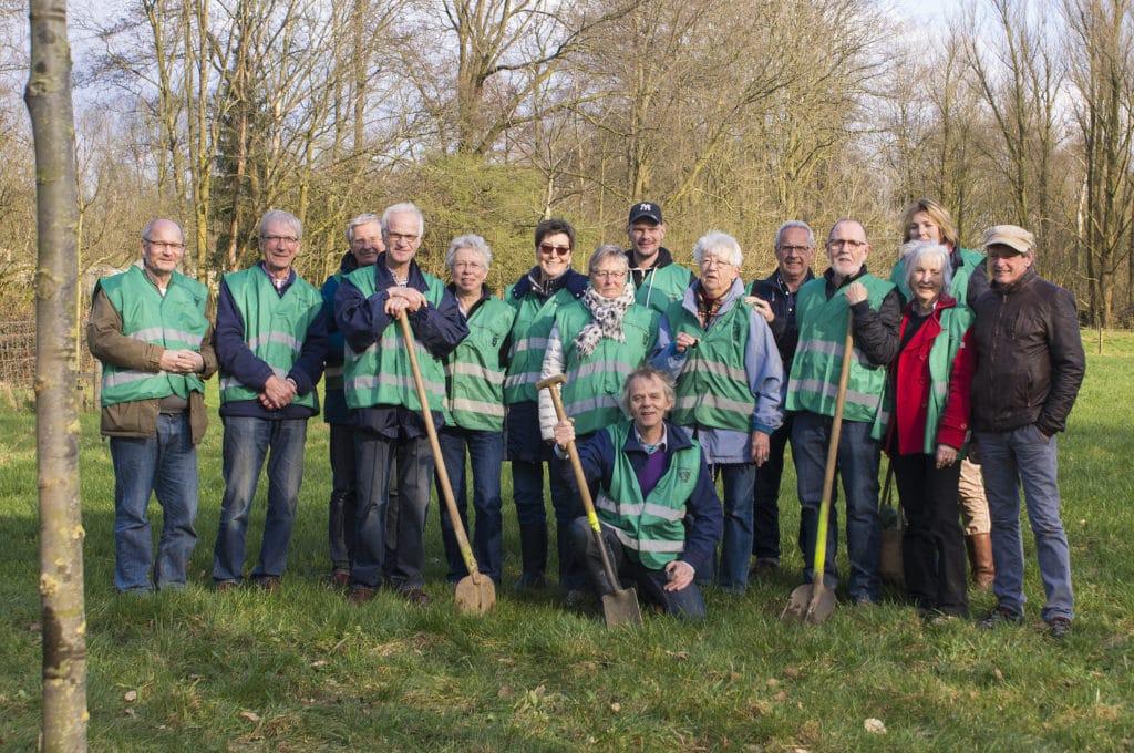 Buur maakt Natuur - Werkgroep De Groene Knoop - Natuurpark Overstegen