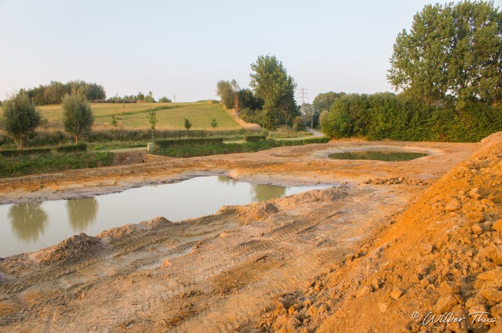 Buur maakt Natuur inrichting natuurgebied 't Knapperslag 2013