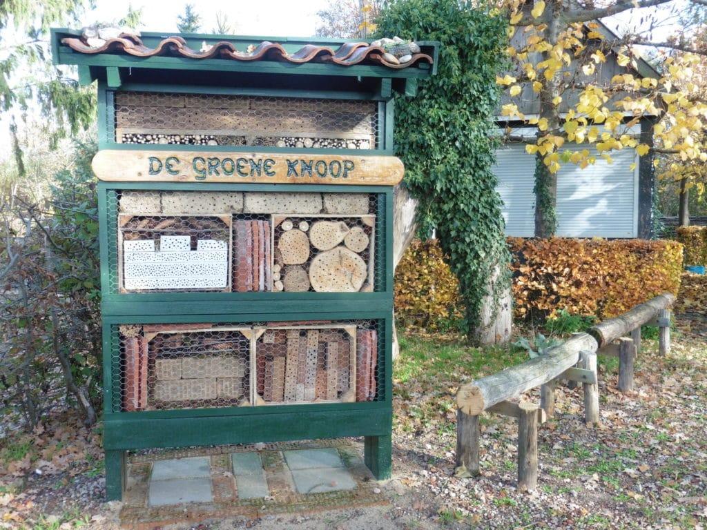 De Groene Knoop Bijenhotel