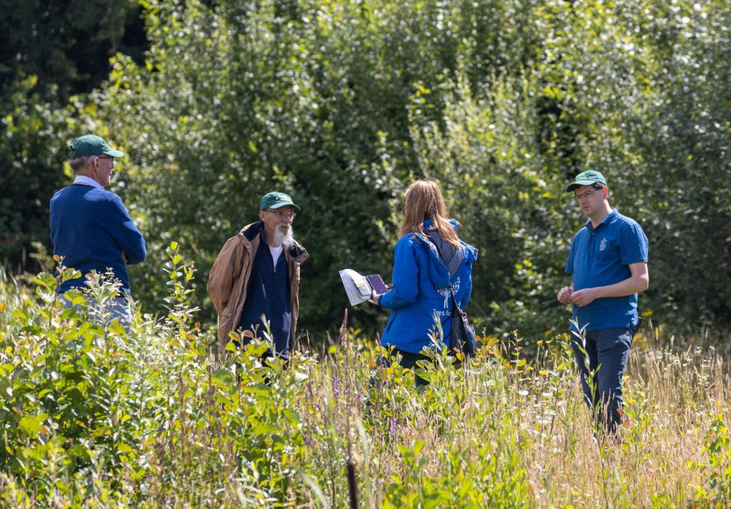 't Knapperslag bezoek van Trees for All - ENGIE - Aangeplant bos. Foto: Mart Smit.